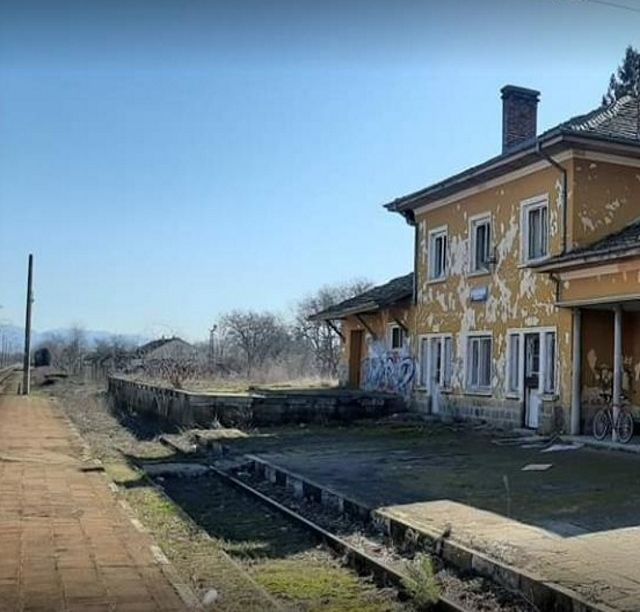 """""""Reconstruction of the catenary at the closed station Gabarevo"""""""